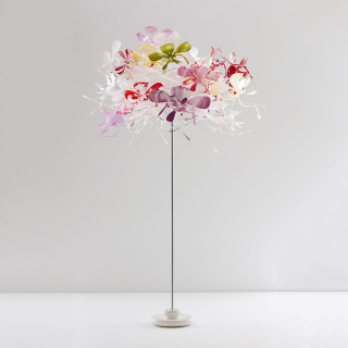 Orchid floor standing light