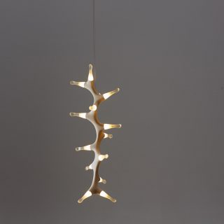 Leafy Sea Dragon vertical pendant light