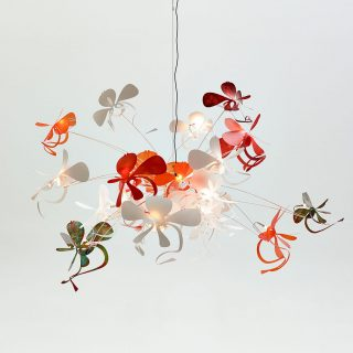 orchid pendant light